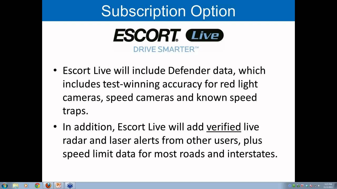 escort live sign in