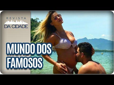 Gusttavo Lima, Andressa Suita e Vera Fischer - Revista da Cidade (29/06/2017)