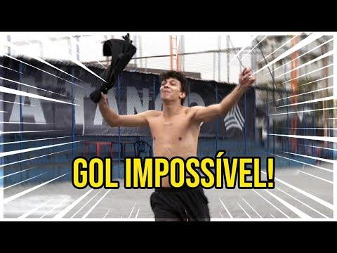 DESAFIO DO GOL IMPOSSÍVEL com Cocielo e Jukanalha!