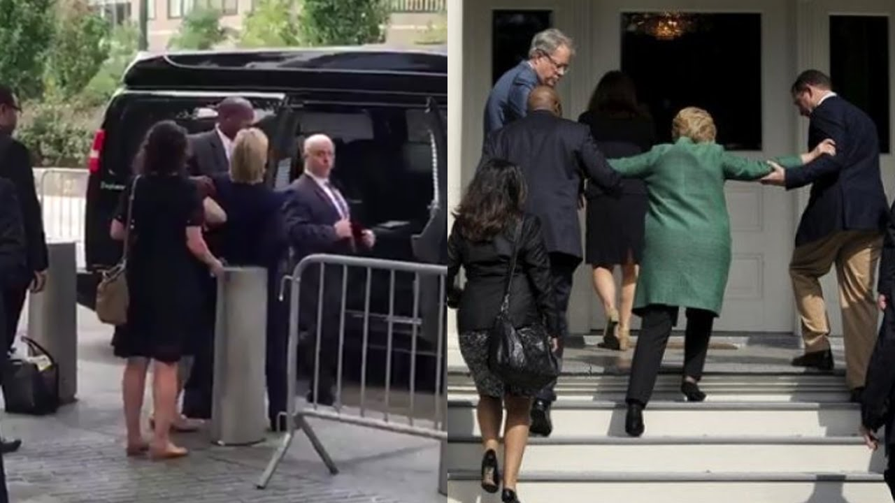 Mind Treasury: Hillary Clinton Collapses in New York During 9/11 ...