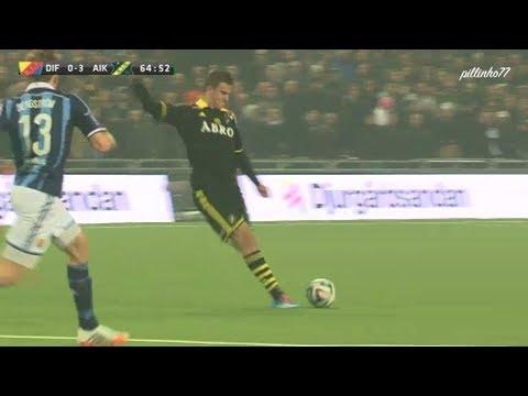 Eero Markkanen Amazing Goal vs Djurgårdens IF   DIF-AIK 2:3