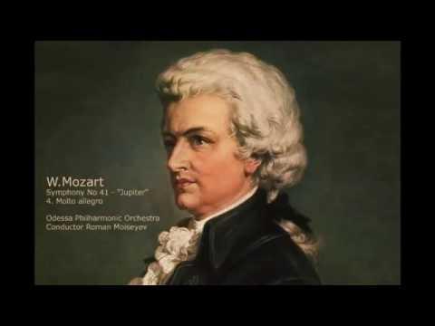 """W. A. Mozart. Symphony No. 41 """"Jupiter"""" (4 Mov) - Roman Moiseyev"""