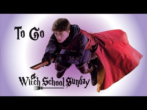 Finding Enlightenment Through Witchcraft. To Go – Witch School Sunday Class 6