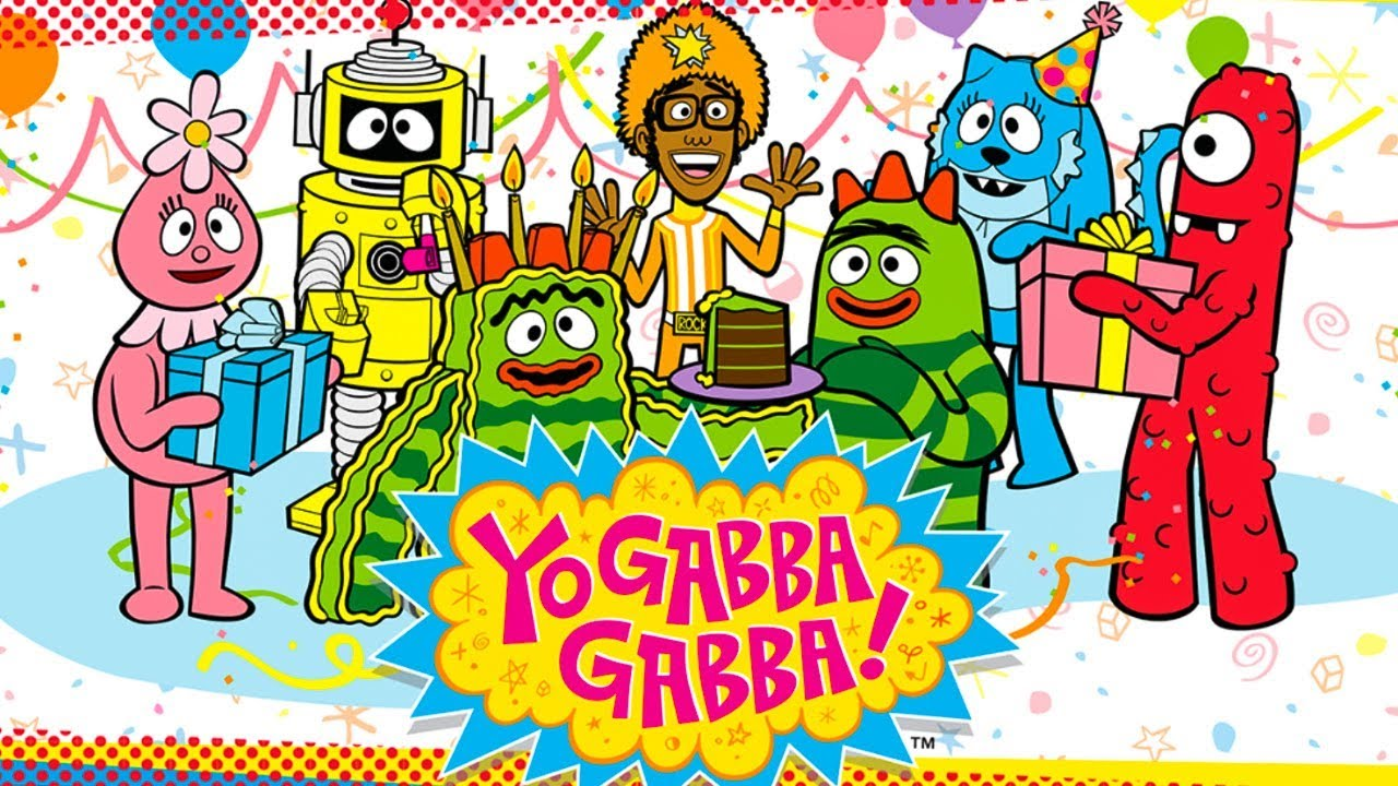 Yo Gabba Gabba! Birthday Party - Super Fun Birthday Games Coloring Pages -  Best App For Kids