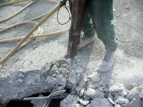 Demolition AC Construction concrete breaker 1