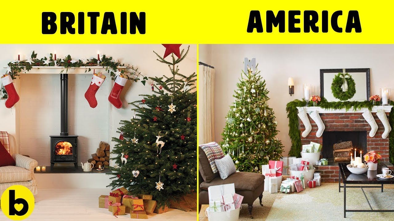 United Kingdom Christmas.Christmas In America And In United Kingdom Is Very Different