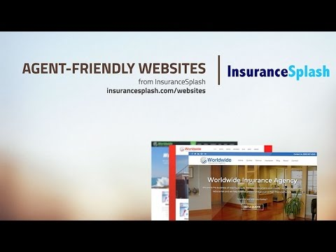 Insurance Websites From InsuranceSplash - How It Works