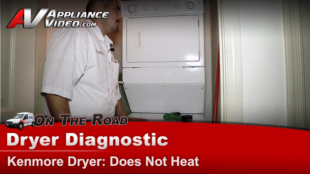 Kenmore Gas Dryer Diagnostic