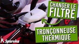 Comment changer le filtre à air de sa tronçonneuse thermique ?