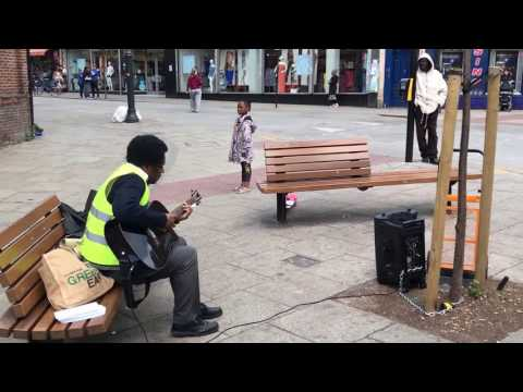 Street Outreach (followed by Street Preacher) - Harlesden - London - UK