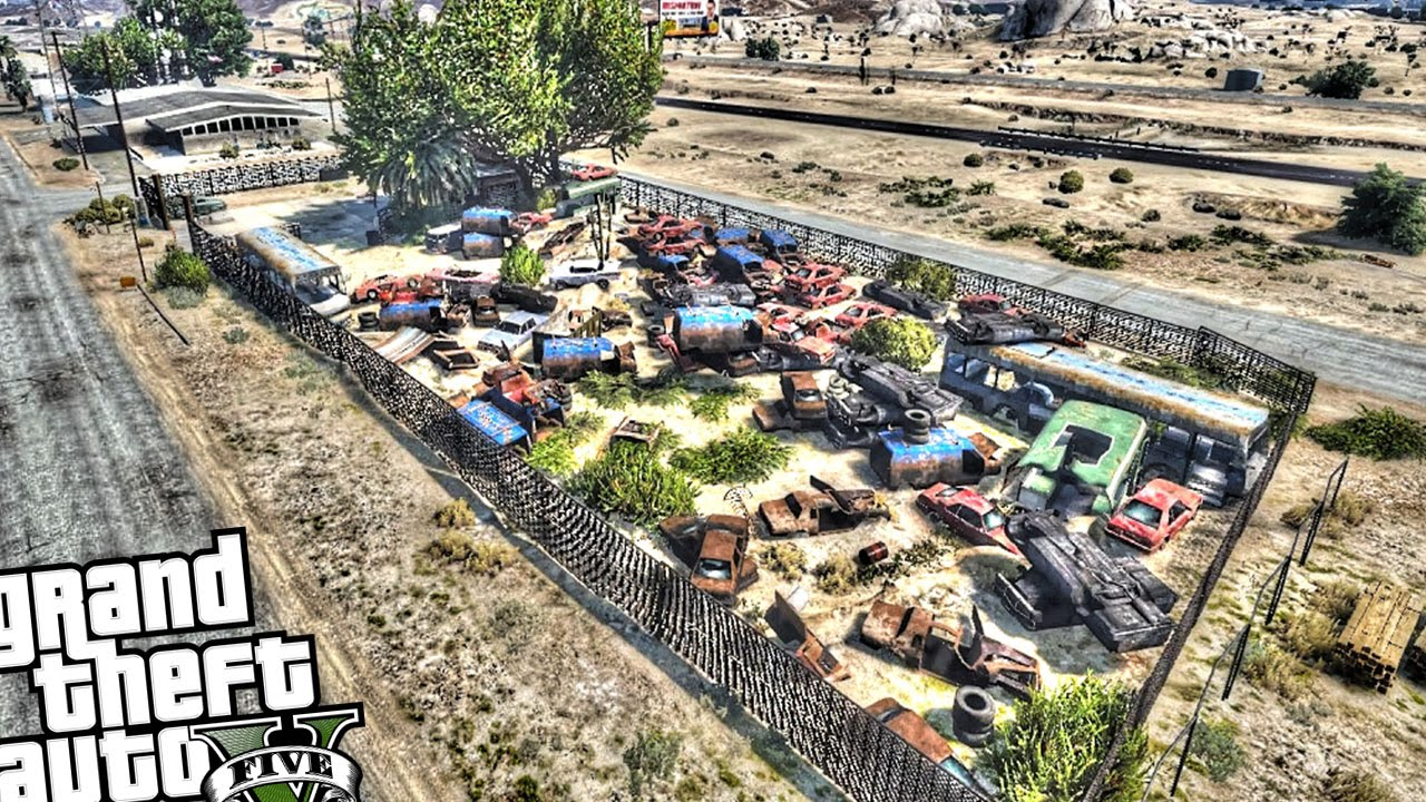 Vehicle Scrapyard - YouTube