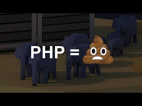 """PHP """"c'est de la merde"""""""