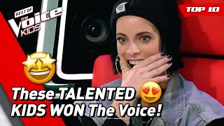 TOP 10 | BEST WINNERS of The Voice Kids (part 1)
