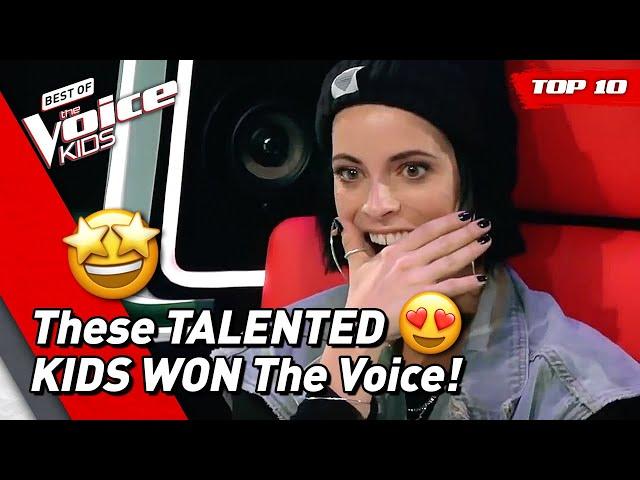 TOP 10   BEST WINNERS of The Voice Kids