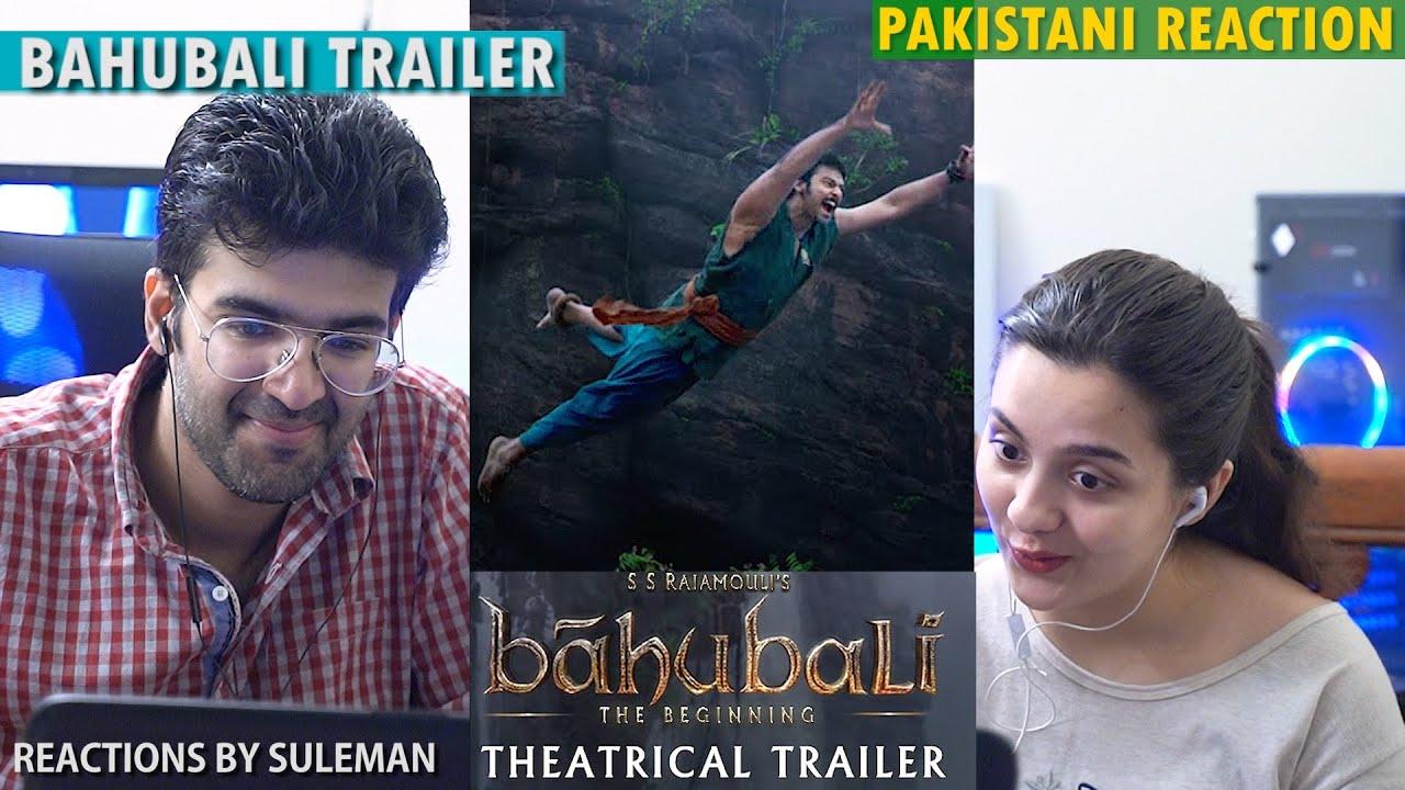 Pakistani Couple Reacts To Bahubali | Hindi Trailer | Prabhas | SS Rajamouli