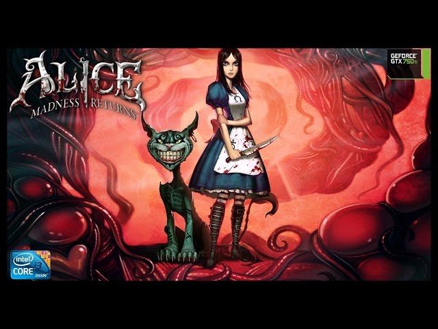 Alice  Madness Returns- i3 3250 + gtx 750ti - FULL HD