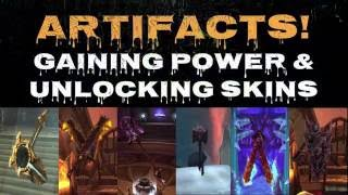 Legion Artifacts - Upgrading & Unlocking!