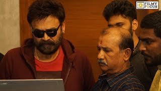 Victory Venkatesh Launched and#39;Jai Senaand#39; Movie Trailer