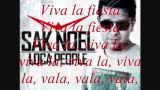 Loca People, Sak Noel Lyrics. Clean Version.