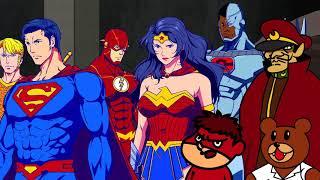 『DCスーパーヒーローズvs鷹の爪団』予告映像