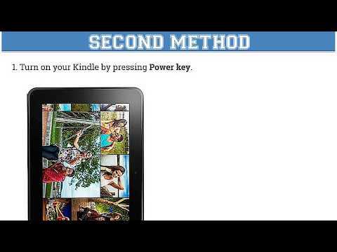 AMAZON Kindle Fire HD 8.9 | Hard Reset