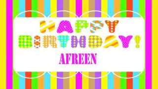 Afreen Happy Birthday Wishes & Mensajes