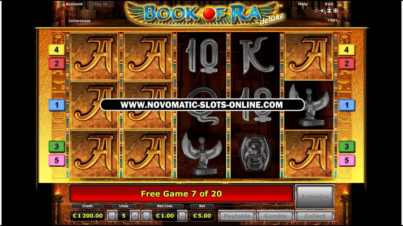 book of ra online bet max