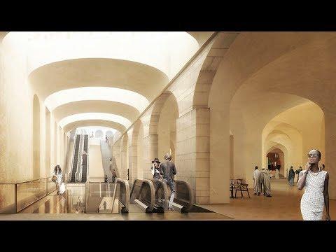 NEW PROJECTS IN ALGERIA. MÉTRO D'ALGER.  Musée de la marine