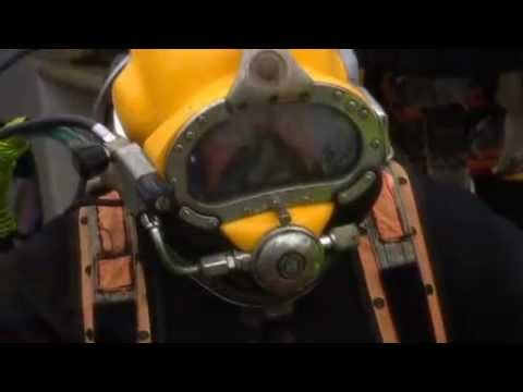 Working as a Diver in the tidal Thames - a Port of London Authority Film