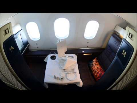 Etihad Airways B787-9 Dreamliner Inaugural Dusseldorf to Abu Dhabi in First Class