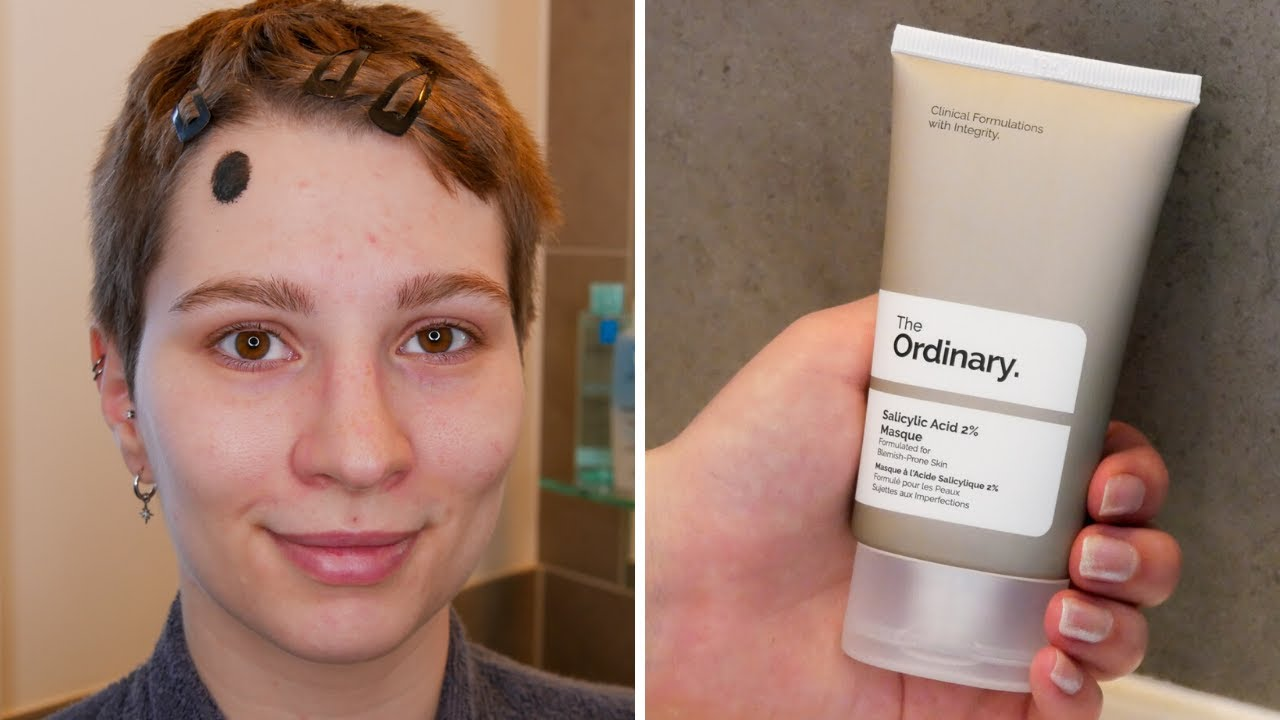How To Do A Patch Test For The Ordinary Salicylic Acid 2 Masque Youtube