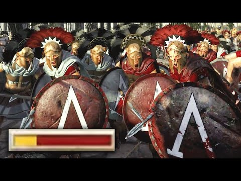 Spartans Do NOT Care About The Odds! | Total War: Rome 2 Siege