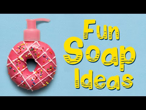 Cinnamon Rolls, Cakes And Donuts In The Bathroom | Fun Soap Ideas