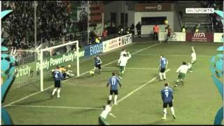 Euro 2012 Play Off - Estonia v Republic of Ireland - High Lights (11/11/11)