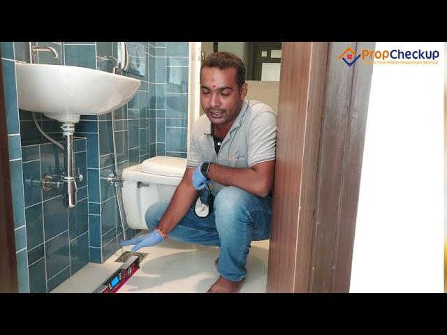 Home Inspection India - Checking For Improper Slope