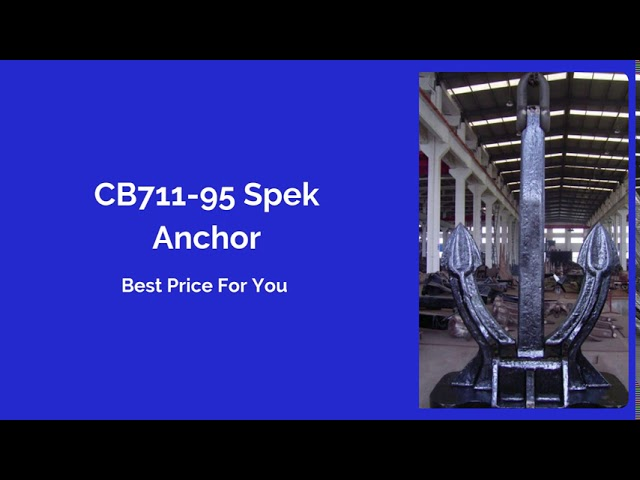 Marine Anchor Supplier in China since 2005.
