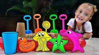 Colores, animales y objetos // Juegos didacticos para niños - Mi Mi Kids