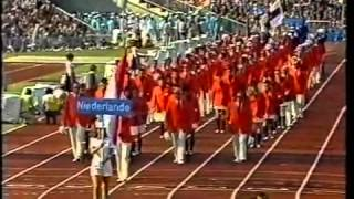 Munich Summer Olympic Games 1972. Opening Ceremony Part 5