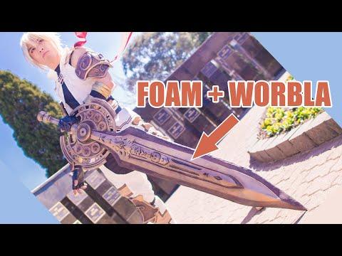 [Cosplay Tutorial] Foam and Worbla Sword Making