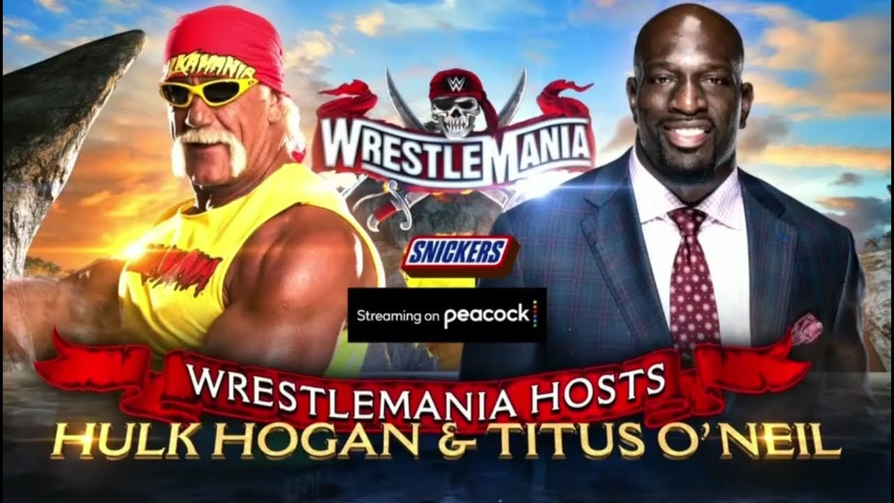 FULL MATCH - hulk hogan vs titus o'neil: WWE Wrestlemania 37