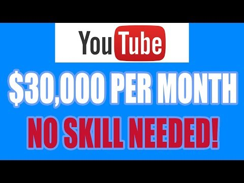 [New Method] How To Make $30,000 Per Month On YouTube Without Recording ANY Videos