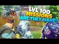 Level 100 Missions ARE THEY HARD? | Fortnite Save The World