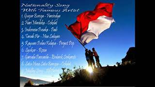 Gambar cover Lagu kebangsaan Cover  - Nationality Songs With Famouss Artist