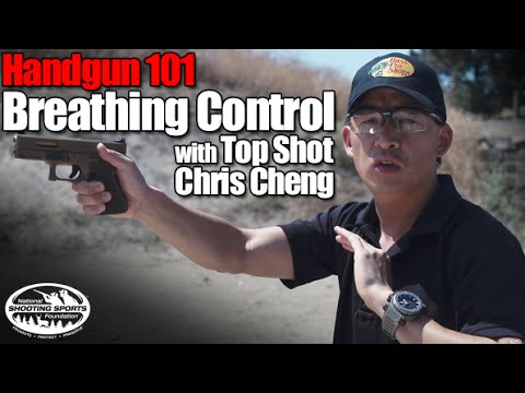 Breathing Control - Handgun 101 with Top Shot Chris Cheng