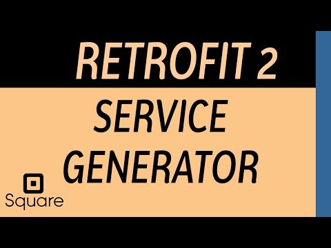 Retrofit 2 What is Service Generator wrapping method - YouTube