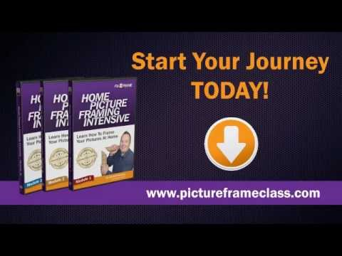 Learn how to frame pictures diy picture framing courses youtube learn how to frame pictures diy picture framing courses solutioingenieria Choice Image
