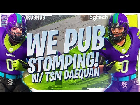 PUB STOMPING WITH DAEQUAN! FUNNY DUO WIN (Fortnite BR Full Game)