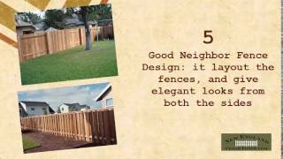 Designing Ideas For Custom Cedar Fence