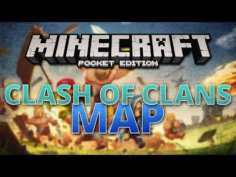 Clash of Clans in MCPE [Map] - Minecraft Pocket Edition