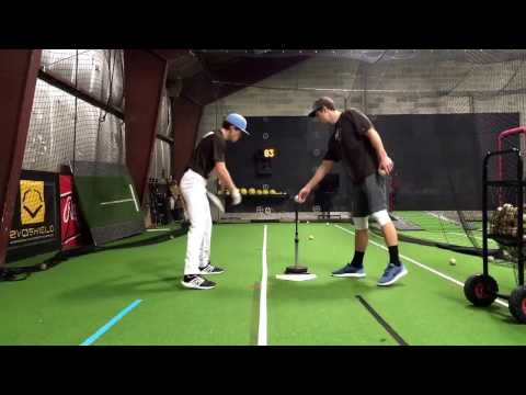 Clifton Slagel 87mph Exit Speed Class of 2017